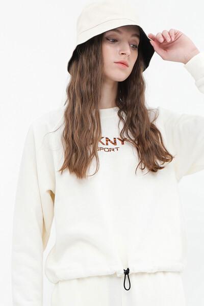 타이거 킹 로고 풀오버 스웨트셔츠