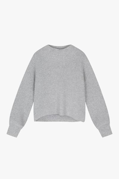소프트 벌룬 모크넥 스웨터