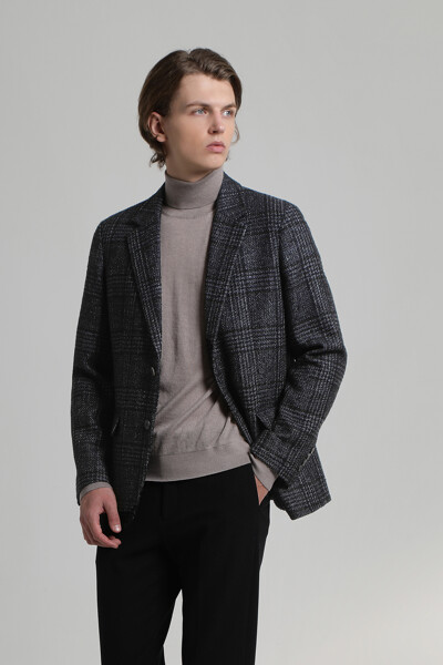 멀티 컬러 트위드 자켓