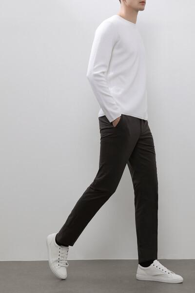 [남성] 슬림 일자핏 솔리드 셋업 팬츠