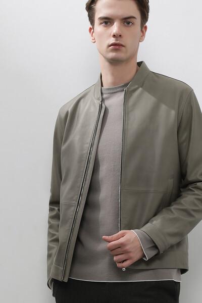 [남성] 양가죽 어반 네추럴 봄버 자켓