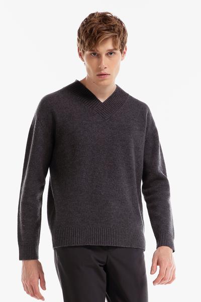 [남성] 울 베이직 브이넥 스웨터