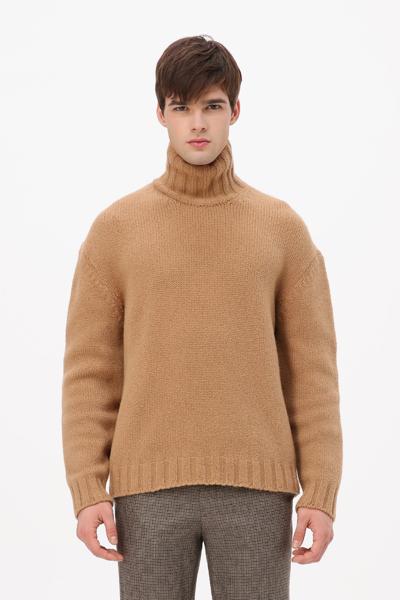 [남성] 울혼방 스너글 터틀넥 스웨터