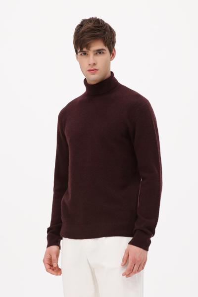 [남성] 울혼방 베이직 터틀넥 스웨터