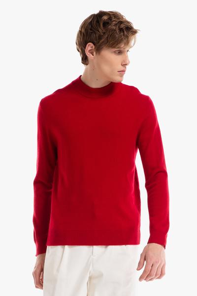 [남성] 캐시미어 모크넥 긴소매 스웨터