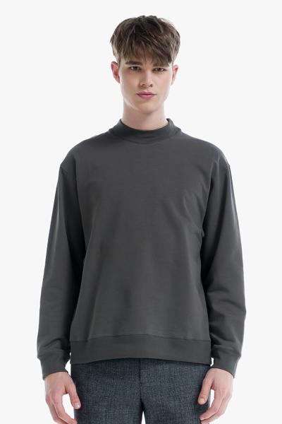 [남성] 베이직 모크넥 맨투맨 티셔츠
