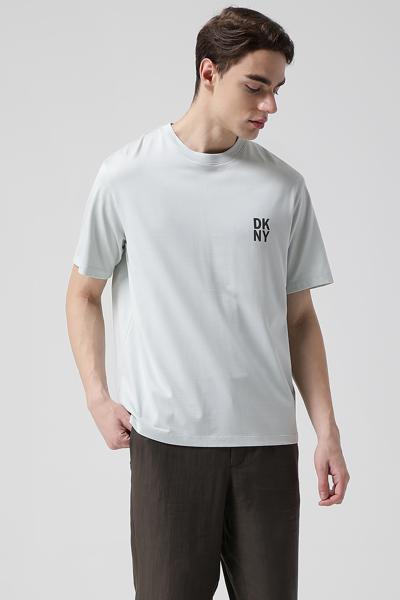 코튼 오버핏 레터링 티셔츠