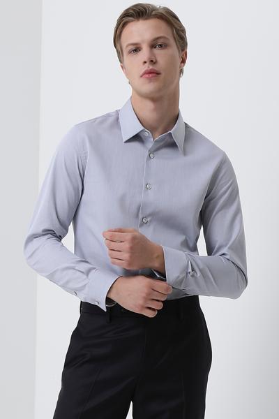 [남성] 레귤러핏 스트라이프 셔츠