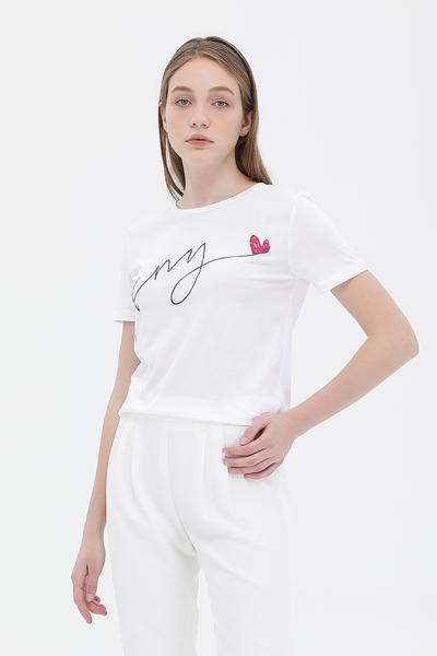 슬림핏 반소매 티셔츠