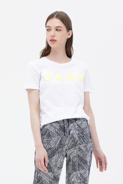 면혼방 라운드넥 반소매 티셔츠