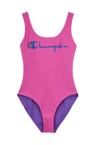 [EU] 리버시블 Champion 원피스 수영복 (NORMAL PINK) CKSR0E085P2