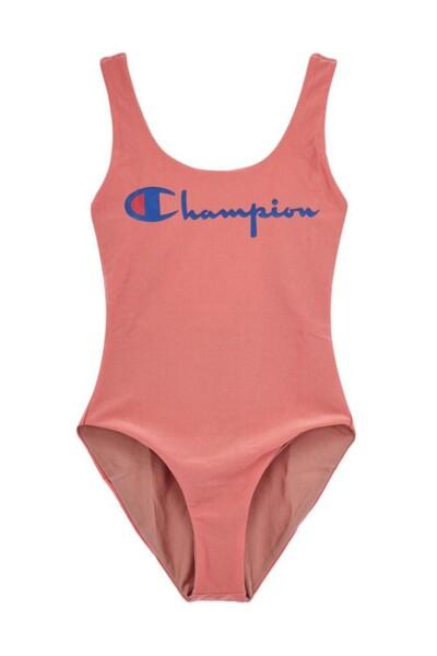 [EU] 리버시블 Champion 원피스 수영복 (PALE PINK) CKSR0E085P4