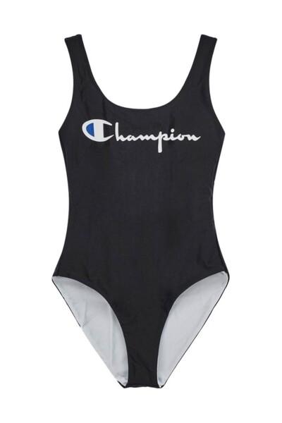 [EU] 리버시블 Champion 원피스 수영복 (BLACK) CKSR0E085BK