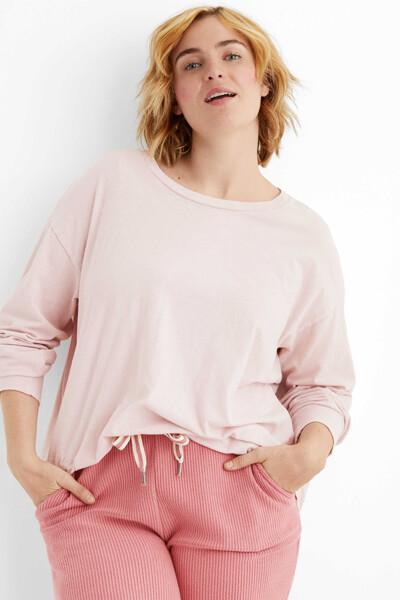 [여성] 코튼 베이직 크루넥 티셔츠