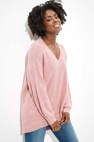 [여성] 오버핏 베이직 스웨터