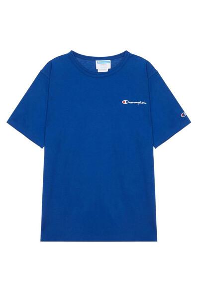 [US] Small로고 Heritage Jersey 반팔 티셔츠 (NORMAL BLUE) CKTS0E201B2