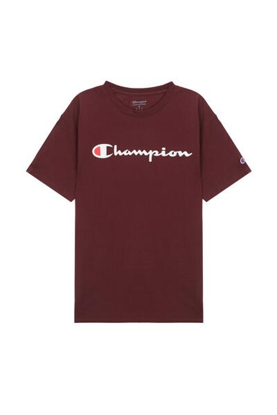 [US] Champion 로고 Classic Jersey 반팔 티셔츠 (DARK SEPIA) CKTS0E006S3