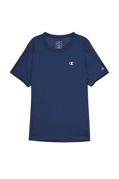 [EU] C로고 스포츠 반팔 티셔츠 (LIGHT NAVY) CKTS0E047N1