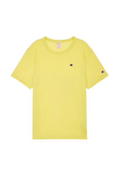 [EU] C로고 반팔 티셔츠 (YELLOW GREEN) CKTS0E241L2