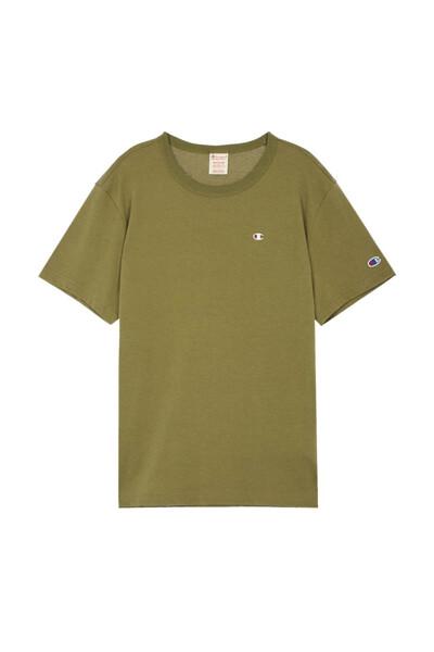 [EU] C로고 반팔 티셔츠 (LIGHT KHAKI) CKTS0E241K1
