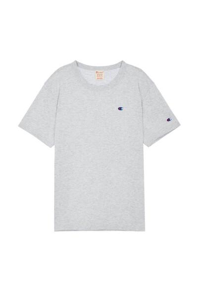 [EU] C로고 반팔 티셔츠 (LIGHT GREY) CKTS0E241G1