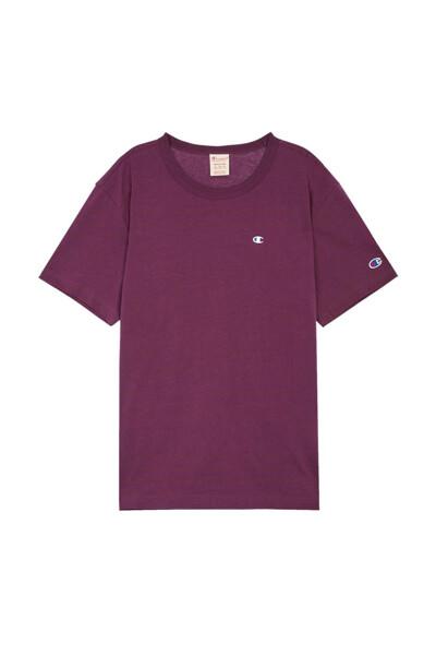 [EU] C로고 반팔 티셔츠 (DARK WINE) CKTS0E241D3