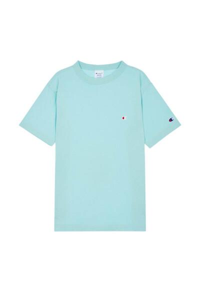 [ASIA] C로고 크루넥 반팔 티셔츠 (LIGHT YELLOW GREEN) CKTS0E220L1