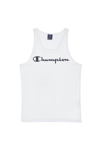 [EU] Champion 로고 슬리브리스 (WHITE) CKTS0E040WT