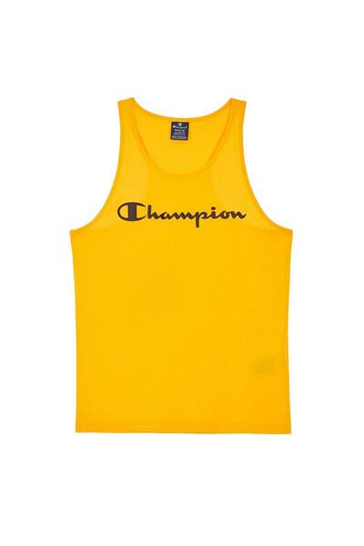 [EU] Champion 로고 슬리브리스 (NORMAL YELLOW) CKTS0E040Y2