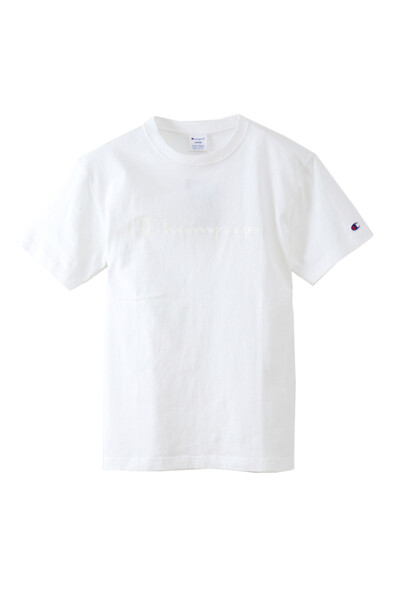 [ASIA]화이트 로고프린트 면 반팔티셔츠 (WHITE) CKTS0E232WT