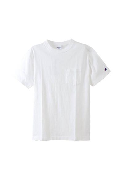 [ASIA]화이트 로고자수 면 반팔티셔츠 (WHITE) CKTS0E231WT