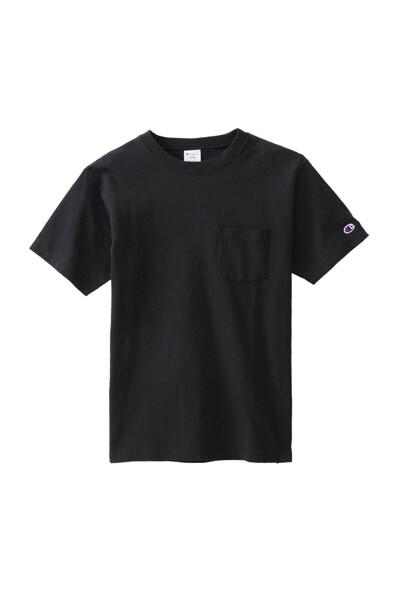 [ASIA]블랙 로고자수 면 반팔티셔츠 (BLACK) CKTS0E231BK