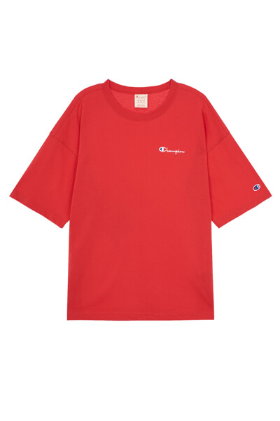[EU] Small로고 오버핏 반팔 티셔츠 (NORMAL RED) CKTS0E240R2