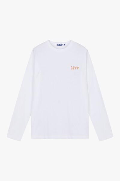 코튼 루즈핏 백 디노 티셔츠
