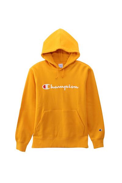 [ASIA] 옐로우 로고프린트 면 후드티셔츠 (NORMAL YELLOW) CKTS0E634Y2