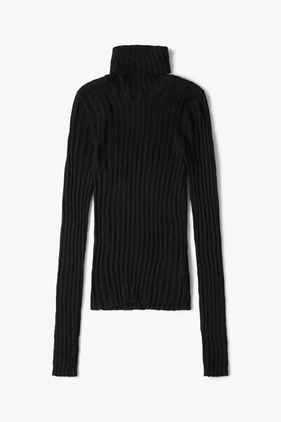 [여성] 솔리드 터틀넥 스웨터