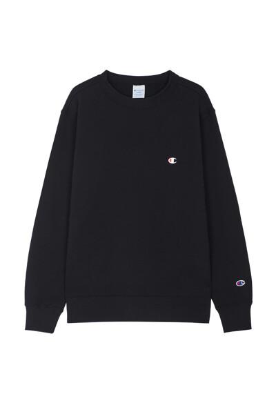 [ASIA] C로고 베이직 맨투맨 (BLACK) CKTS0F626BK