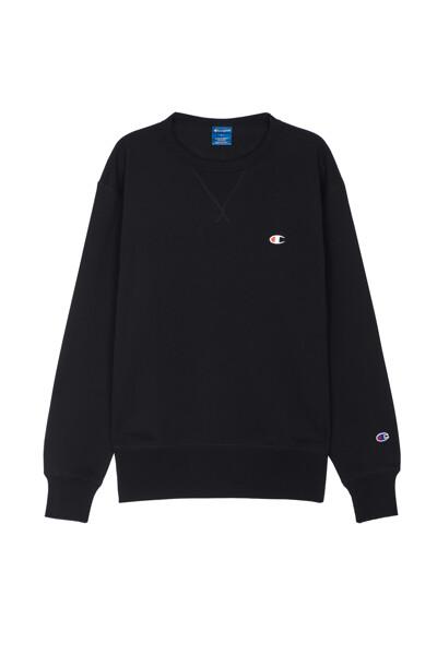 [ASIA] C로고 심플 맨투맨 (BLACK) CKTS0F628BK