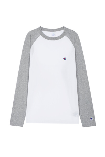 [ASIA] C로고 나그랑 티셔츠 (LIGHT GREY) CKTS0F527G1