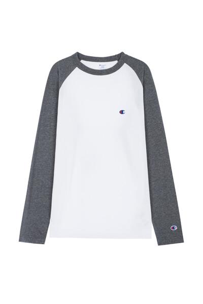 [ASIA] C로고 나그랑 티셔츠 (CHARCOAL GREY) CKTS0F527CG