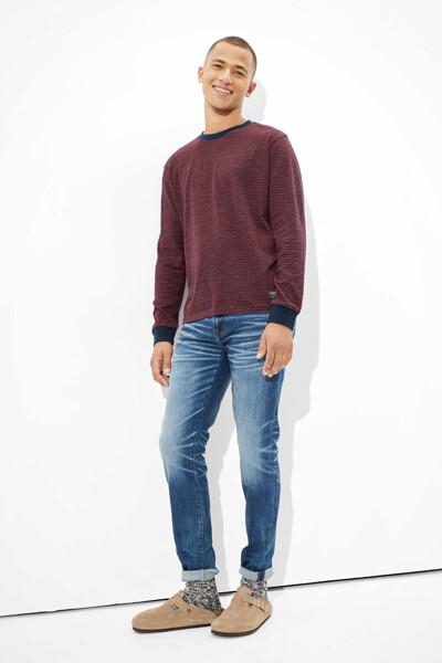 [남성] 코튼 파인 샌디 크루넥 티셔츠