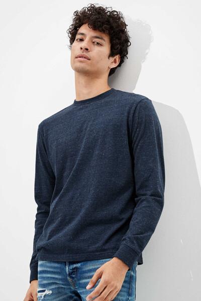 [남성] 코튼 파인 샌디 긴소매 티셔츠