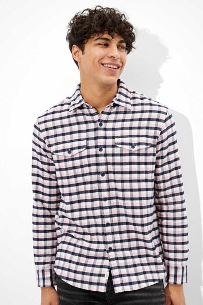 [남성] 코튼 건 클럽 긴소매 셔츠