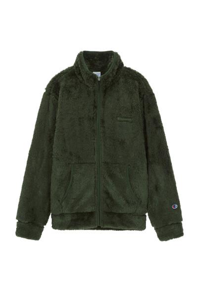 [ASIA] 베이직 쉘파 플리스 집업 (YELLOW GREEN) CKJA0F827L2