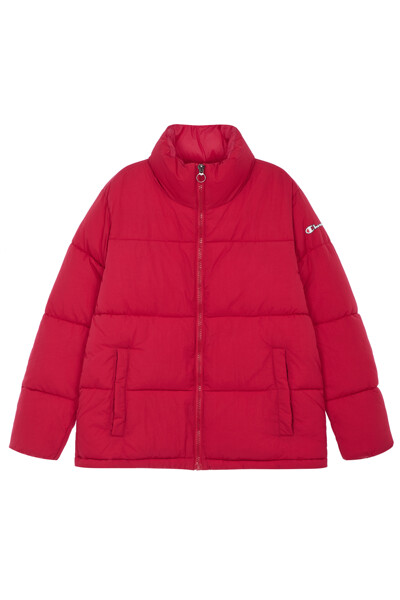 [EU] 여성 백 Champion 로고 숏 패딩 점퍼 (NORMAL RED) CKJU0F880R2