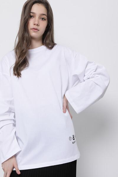 타이포 롱 슬리브 티셔츠