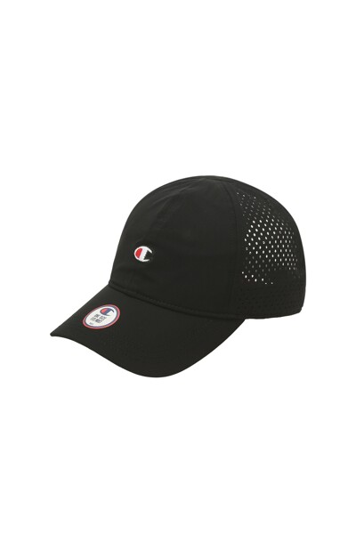 [US] 레이저타공 스포츠 캡 (BLACK) CKHE1E100BK