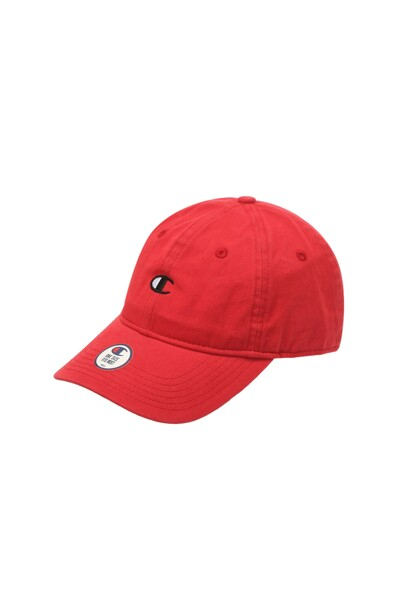 [US] C로고 캡 (NORMAL RED) CKHE1E202R2
