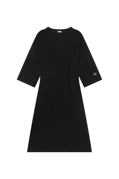 [ASIA] 백 하트 원피스 (BLACK) CKDR1E573BK