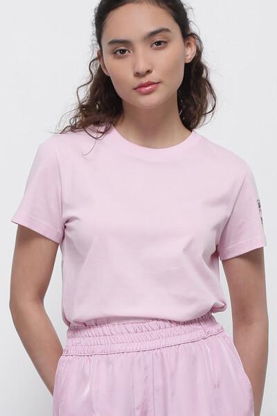 슬리브 쁘띠 그래픽 티셔츠